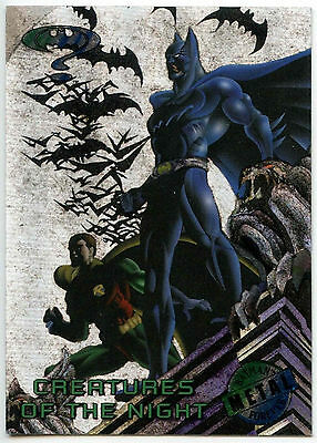 Batman Forever Metal #81 Silver Flasher Trade Card (C174)