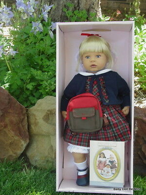 New ~ Zapf ~ Marie School Days ~ from the Fondest Memories Collection