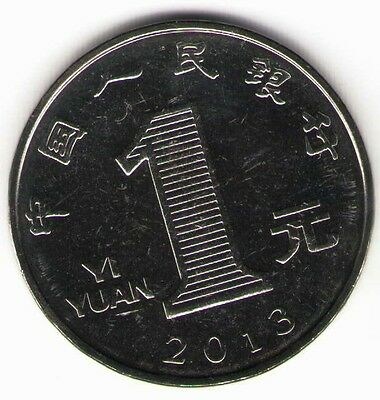 PRC. 2013. 1 Yuan Coin. Uncirculated