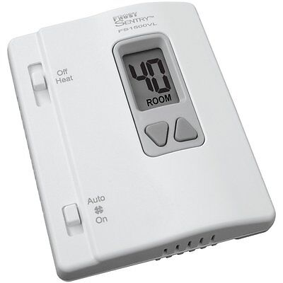 ICM Controls Frost Sentry Garage Thermostat Single-Stage Heating System FS1500VL