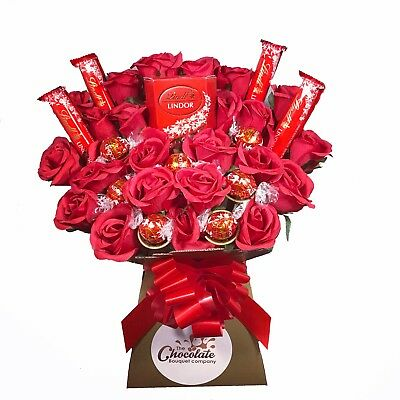 Lindt Lindor Chocolate Bouquet - Sweet Hamper Tree Explosion - Perfect Gift