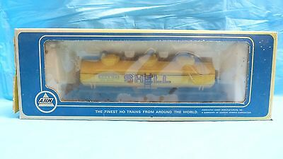 Vtg Ahm Ho Scale 3 Dome Tank #5480-02 Shell Oil Ready To Run Rr Train Model 4A