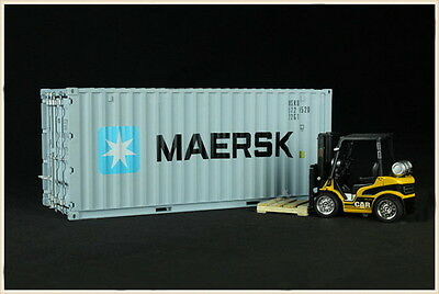 New 1/20 MAERSK Shipping Container Model ZX