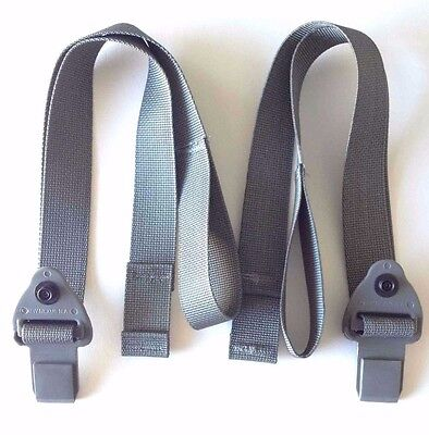 Male Quick Release straps Buckle for Molle Assault Backpack Pack New (1) Pair