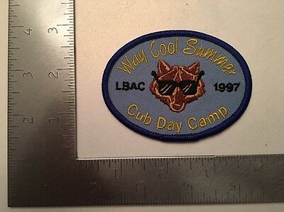 Boy / Cub Scouts Of America Long Beach Area Council 1997 Cub Day Camp Patch  CSA