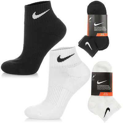 Neu Nike  Performance Cushion Quarter SOCKEN 3 PAAR Unisex Sneaker Sportsocken