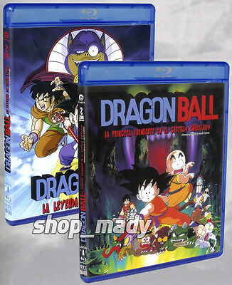 Dragon Ball - 2 Movies Blu-ray en ESPAÑOL LATINO Region Free New!