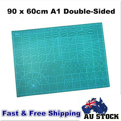 A1 90cmX60cm Double-sided Cutting Mat Cutter Plate 3MM Thickness Grid Lineed Pad