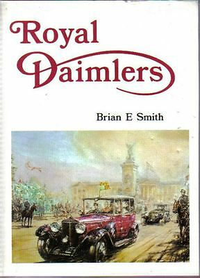 Royal Daimler Cars 80 years Queen Victoria up to Elizabeth II well illustrated
