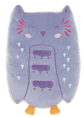 """orla Owl"" Hiccups Cushion Pillow Novelty- Childrens Baby Decor Bedroom Nursery"