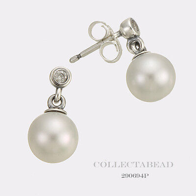 7fa4ca556 Authentic Pandora Sterling Silver Luminous Elegance Earrings 290694P