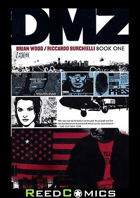 DMZ BOOK 1 GRAPHIC NOVEL New Paperback Collects Issues #1-12 by Brian Wood