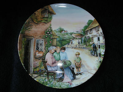 Royal Doulton - Old Country Crafts - The Lacemaker - Collector Plate