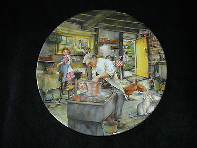 Royal Doulton - Old Country Crafts - The Potter - Collector Plate