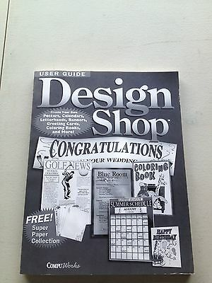 Design Shop Book CD Greeting Cards Banners Letterheads Calendars 1996