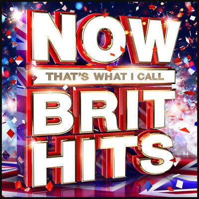 Various Artists : Now That's What I Call Brit Hits CD 3 discs (2016) Great Value