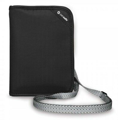 Pacsafe RFIDSAFE V150 Anti-theft Travel wallet - Black