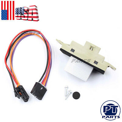 New Blower Motor Resistor With Plug For Tahoe Yukon Escalade Silverado Sierra