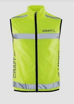 Craft Bike Unisex High Visibility Neon Vest XS  or XL NWT