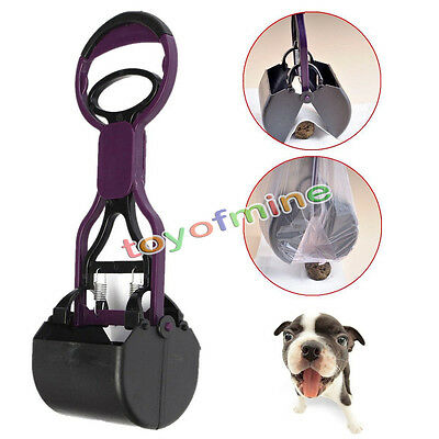 Handle Pick Up Grabber Jaw Poop Scoop Pooper Scooper Clean For Pet Dog Cat Waste