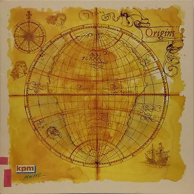 Kpm Music 'origins' Uk Lp Kpm 1383