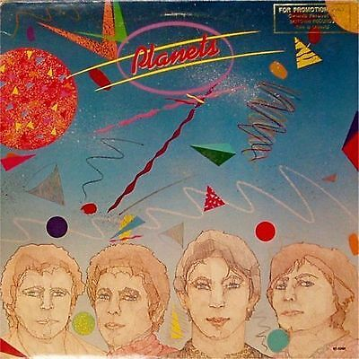 Planets 'planets' Self-Titled Us Import Lp Promo Copy