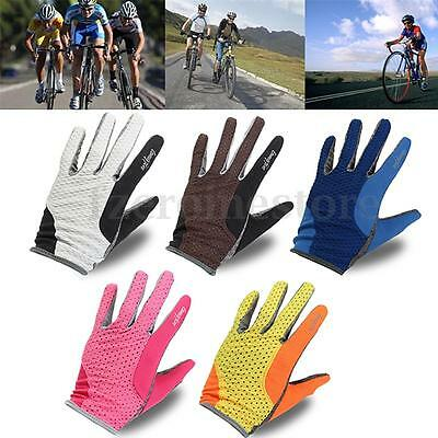 Outdoor Sports Summer Road Mountain Bike Cycling Breathable Full Finger Gloves