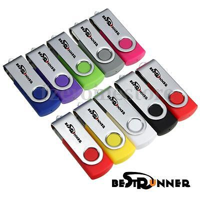 New Pendrive 16Gb  Bestrunner Memory Memoria Usb 2.0 16 Gb Original Pen Drive