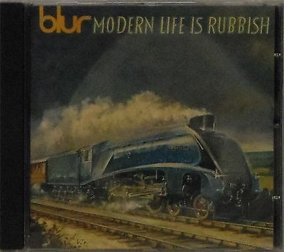 Blur 'modern Life Is Rubbish' 14-Track Cd
