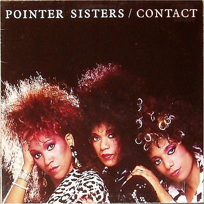 Pointer Sisters 'contact' German Import Lp
