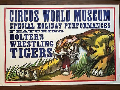 Vintage Poster Circus World Museum
