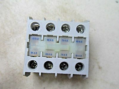(T3-6) 1 New Cutler Hammer C320-Kgt13  Auxiliary Contact
