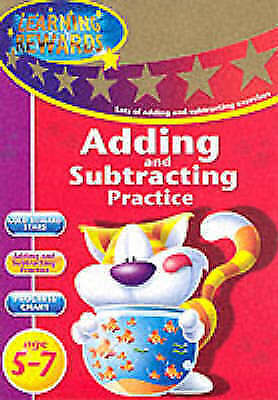 Learn Adding and Subtracting Practice: Key Stage 1 5-7 Activity Sticker Book New