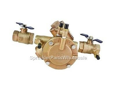 """Febco 1 1/2"""" 825Y-QT RP Reduced Pressure Zone Backflow Preventer 825GBV 825 RPA"""