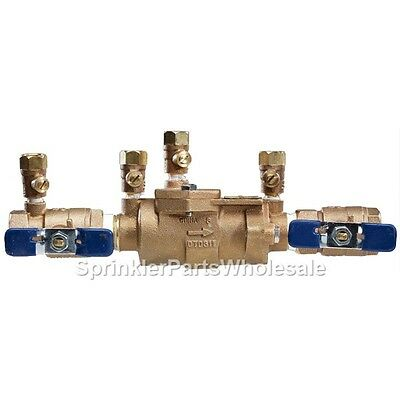 Hydraulics, Pneumatics & Plumbing A.R.I 1 DC 500-100 Lead Free Double Check Backflow Preventer Industrial & Scientific