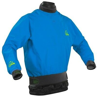 Palm Velocity Whitewater Kayaking Dry Top - Blue