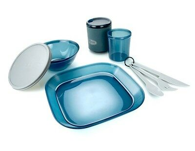 GSI Infinity 1 Person Camping Table Set - Blue