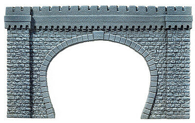 Noch 67360 G Scale Tunnel Portal, 2-track 64 x 37 cm #new original packaging#