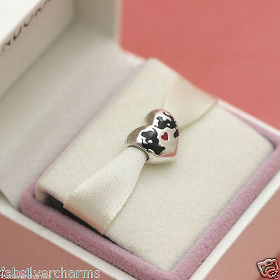 cce1fd238 NEW! AUTHENTIC Pandora Disney Minnie & Mickey Kiss Heart 791443ENMX ...