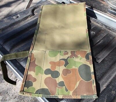 Standard Knife Roll Fishing Hunting. Australian made with Australian canvas. CAM