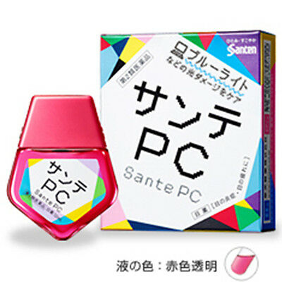 Santen Sante PC Eye Drops for Computer Smartphone 12ml from Japan