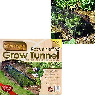 Grow Tunnel Net Mesh Cloche Plant Protection Insect Bird Garden Crop Allotment