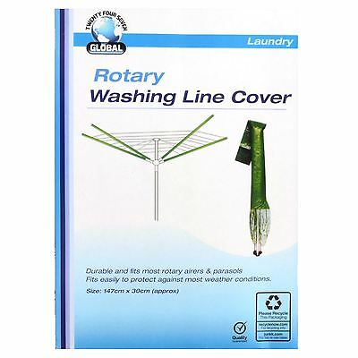 Rotary Washing Line Cover Drier Protector Garden Parasol Waterproof Airer Cover