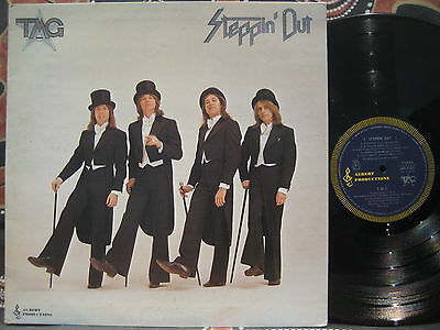 TED MULRY GANG Steppin' Out - 1976 Oz (Australian - Albert Productions) LP