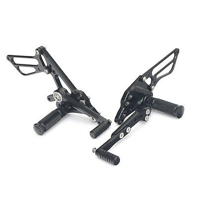 Adjustable Rearsets Rear Sets Suzuki GSXR1000 2009 2010 2011 2012 2013 2014 2015