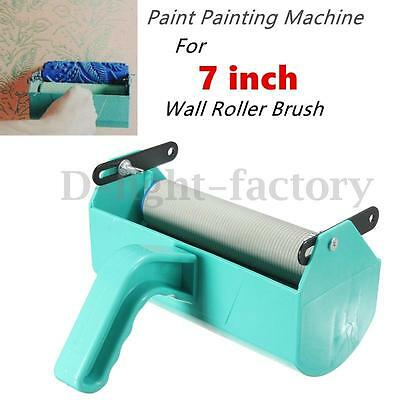 Single Color Decoration Paint Painting Machine for 7'' Inch Wall Roller Brush