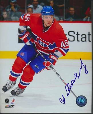 Andrei Kositsyn-Montreal Canadiens Signed8x10 NHL Hockey Photo c/wCOA & Hologram