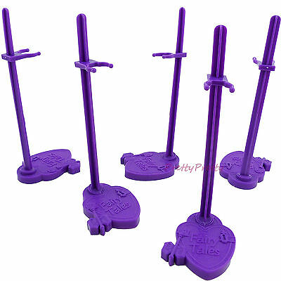 5x Support Prop Stand Model Holder Show Accessories For Monster High Bratz Doll