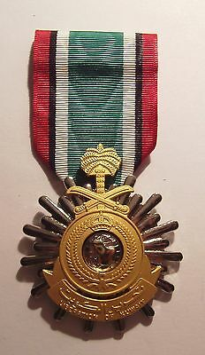 Kuwait Liberation (Saudi) Military Medal with RIBBON U.S. Made