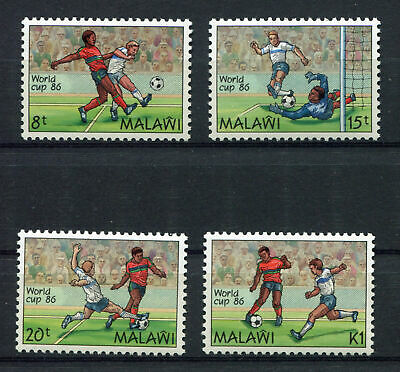 s6059) MALAWI 1986 MNH** WC Football'86- CM Calcio 4v